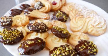 i biscotti di frolla montata
